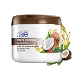 Крем для лица и тела «Масло кокоса. Восстановление», 400 мл