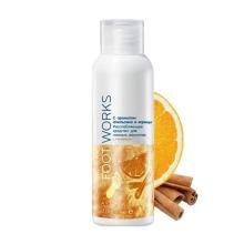 Расслабляющее средство для ножных ванночек с ароматом апельсина и корицы