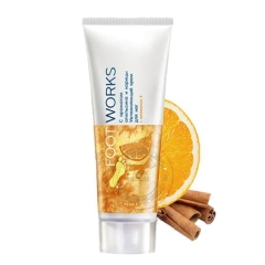 Увлажняющий крем для ног с ароматом апельсина и корицы, 75 мл