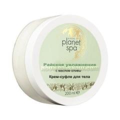 SPA Крем-суфле для тела с маслом оливы «Райское увлажнение», 200 мл