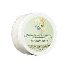 SPA Маска для волос с маслом оливы «Райское увлажнение», 200 мл