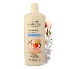 Шампунь-кондиционер 2 в 1 для волос «Белый персик и ванильная орхидея»