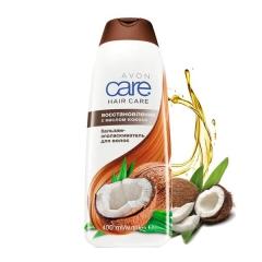 Бальзам-ополаскиватель для волос с маслом кокоса «Восстановление», 400 мл